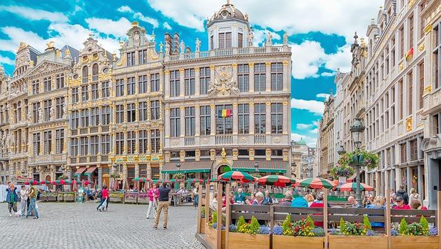 La Grande Place vagy Grote Markt Brüsszelben