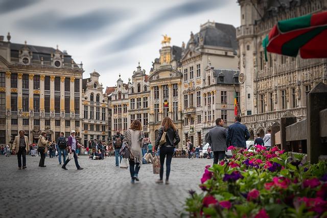 Brüsszel főtere - Grote Markt